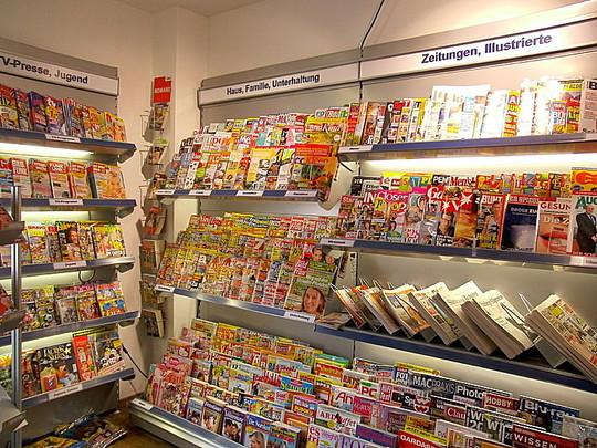 Zeitschriften, Bücher, Illustrierte