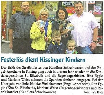 Presseartikel Friedberger Zeitung